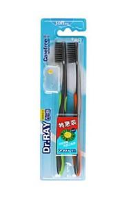 super myke tannbørster, voksen av Medline for to fortrinnsrett