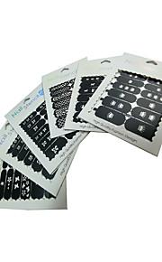 Nail Art Nail Sticker Wassertransfer Abziehbilder / Lace-Aufkleber / Nail Schmuck / Decorating set