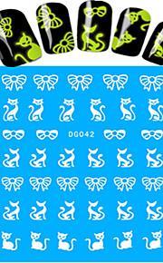 Nail Art Nail Sticker Vollständige Nail Tips / Wassertransfer Abziehbilder / Nail Schmuck