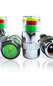 bil dæktryk advarsel cap, dæktryk cap, alarm overvågning dæk indikation luftventil trykke cap