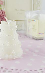 Thème de plage / Thème asiatique / Thème classique / Fête prénatale Favors Candle-2Piece Piece / Set Bougies Non personnalisé Blanc