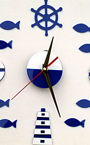 AOFU Still Life Wall Stickers Plane Wall Stickers Clock Stickers, Home Decoration Wall Decal ACC2040