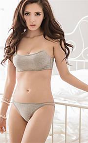 Full Coverage Bras & Panties Sets,Adjustable Cotton