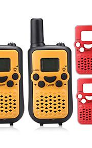 T899BR Walkie-talkie 0.5W 8 Channels 400-470MHz AAA alkaline battery 3km-5km VOX / LCD-scherm / Monitor / Scan N/A Portofoon