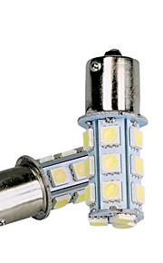 10pcs 1156 5050 18SMD luz trasera de la luz de freno de parada de la cola del bulbo del coche de color blanco (dc12v)