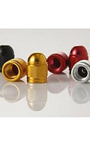 ojiva colorido de aluminio de aleación de tapa de la válvula, tapa de válvulas de motocicleta
