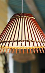 40W Vedhæng Lys ,  Vintage / Rustik Træ Feature for LED MetalStue / Soveværelse / Spisestue / Badeværelse / Læseværelse/Kontor / Indgang