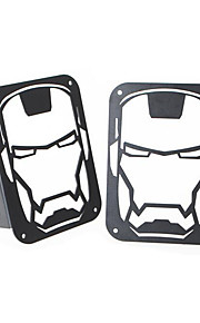 achterlicht cover, achterlicht frame, metaal ijzer en staal
