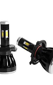 2 stuks 2010-2013year aandacht 5000LM leidde koplamp h4 grootlicht geleid koplamp kit H4 dimlicht geleid koplamp kit