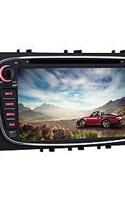 quad-core 7 inch 2 din Android 5.1.1 auto dvd-speler voor Ford Mondeo 2007 ~ 2011 met bluetooth radio wifi spiegel koppeling