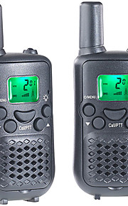 T899C Walkie-talkie 0.5W 8 Channels 400-470MHz AAA alkaline battery 3km-5km VOX / Encryptie / LCD-scherm / Monitor / Scan / CTCSS/CDCSS