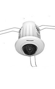 hikvision® ds-2cd2e20f-w 2,0 MP indlejret montage wi-fi ip dome kamera med mini størrelse / sd-kort slot / PoE