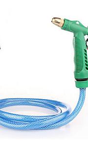 blåt jakkesæt kobber højtryks-sprøjte bilvask vask værktøjer