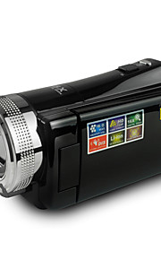 """rijke DVH-600 hd 720p pixels 16,0 megapixels 16x zoom 2.7 """"LCD-scherm hd digitale camera camcorder"""