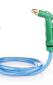 venta de los fabricantes azul arma traje de cobre de alta presión pistola de agua