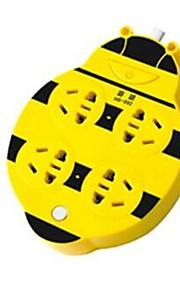 Haisheng Johdolliset Others USB multi-function socket Musta Fade / Hopea / Ruskea