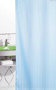 Moderno Poli / Mezcla de algodón 1.8*2M  -  Alta calidad Cortina de baño