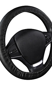autoyouth Punch pu rat dækning universel pasform 14-15 tommer rat interiør tilbehør styretøj dæksler