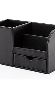 קופסאות אחסון מדפסות משולבות,PU עור