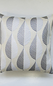 Geometric Jacquard Cushion Cover-Beige