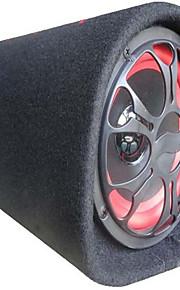 10-Inch Tunnel-Type Circular 12V24V220V Car Car Subwoofer Active Speaker Amplifier Slim