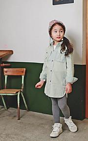 Mädchen Jeans / Anzug & Overall-Ausgehen einfarbig Baumwolle Sommer / Frühling Grün