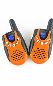 3651 pair mini walkie-talkie UHF oplaadbare paar familie in openlucht team toerisme kan ervoor kiezen om te gebruiken.