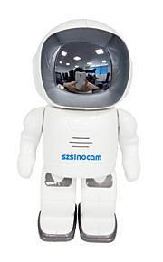 szsinocam 720p robot wifi telecamere di sorveglianza Wi-Fi / 802.11 / b / g supporto ONVIF 2.4 plug and play
