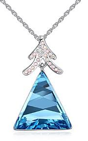 Colliers Tendance Pendentif de collier Bijoux Soirée A la Mode Alliage Argent 1pc Cadeau