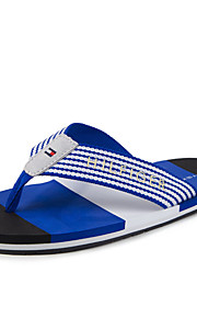 Men's Sandals Spring / Summer / Fall Comfort Canvas Casual Flat Heel OthersBlack / Blue / Brown / Green / Red