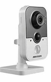 Hikvision ds-2cd2410fd-IW ONVIF 1.0MP PoE ir rete cubo IP Camera (microfono incorporato Wi-Fi pir)