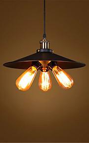 40 מנורות תלויות ,  סגנון חלוד/בקתה / וינטאג' / רטרו / גס צביעה מאפיין for סגנון קטן / מעצבים מתכתחדר שינה / חדר אוכל / מטבח / חדר עבודה