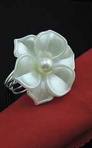 プラスチック 円形 ナプキンリング