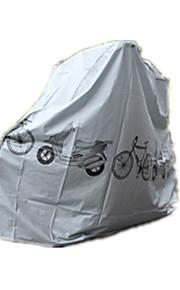 fiets dekking auto fiets set grijze schilden elektrische voertuigen