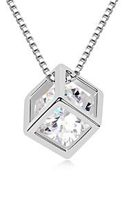Colliers Tendance Pendentif de collier Bijoux Quotidien Mode Platiné Argent 1pc Cadeau