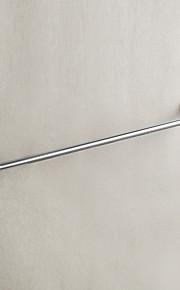 Barre porte-serviette / Miroir Poli / Fixation Murale /24*3.9*1.95 inch /Laiton / Alliage de Zinc /Contemporain /61CM 10CM 0.55