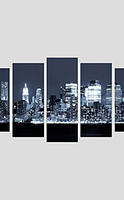 Canvas Set Landscape Modern,Five Panels Canvas Any Shape Print Wall Decor For Home Decoration