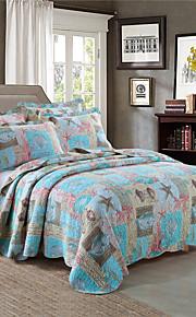 Разные цвета Стеганныеодеяла материал King (Ш 264 x Д 234 см) 2 декоративных чехла / 1 одеяло