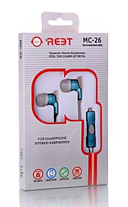 Neutral Product MC-26 Hoofdtelefoons (hoofdband)ForMediaspeler/tablet / Mobiele telefoon / ComputerWithmet microfoon / DJ / Volume