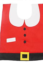 jul xmas dekorasjoner lyst nisse toalett setetrekk og rug bad sett