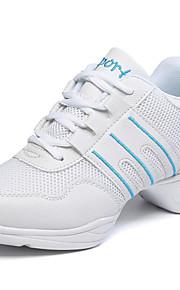 Zapatos de baile(Azul / Rosa) -Jazz / Zapatillas de Baile / Moderno-No Personalizables-Tacón Cuadrado