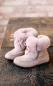 Girl's Boots Comfort Microfibre Casual Black Pink