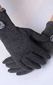 Guantes Deportivos Bicicleta Dedos completos MujerA prueba de resbalones / Mantiene abrigado / Alta elasticidad / Protector /