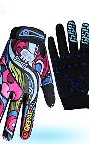 Guantes Deportivos Bicicleta Dedos completos Mujer / HombresA prueba de resbalones / Mantiene abrigado / Resistencia al desgaste / Reduce