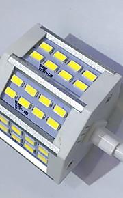 7 R7S Ampoules Maïs LED T 24LED SMD 5730 680LM-800LM lm Blanc Chaud / Blanc Froid Décorative AC 85-265 V 1 pièce