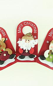 Joulukoristeet / Joululelut Lomatarvikkeet Joulupukki-asu / Hirvi / Lumiukko Tekstiili Hopea / Ivory / Valkoinen Kaikki