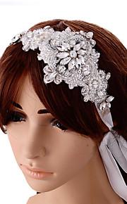 Dame Sateng Headpiece-Bryllup / Spesiell Leilighet Pannebånd 1 Deler