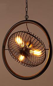 Max 60W Hängande lampor ,  Traditionell/Klassisk / Rustik/Stuga / Vintage / Kontor/företag / Rustik Målning Särdrag for Ministil Metall