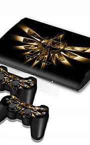 B-Skin Väskor, Skydd och Fodral / Klistermärke För Sony PS3 Nyhet