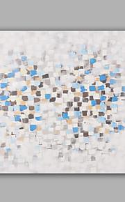 מצויר ביד מופשט / L ו-scape ציורי שמן,מודרני / קלאסי פנל אחד בד ציור שמן צבוע-Hang For קישוט הבית